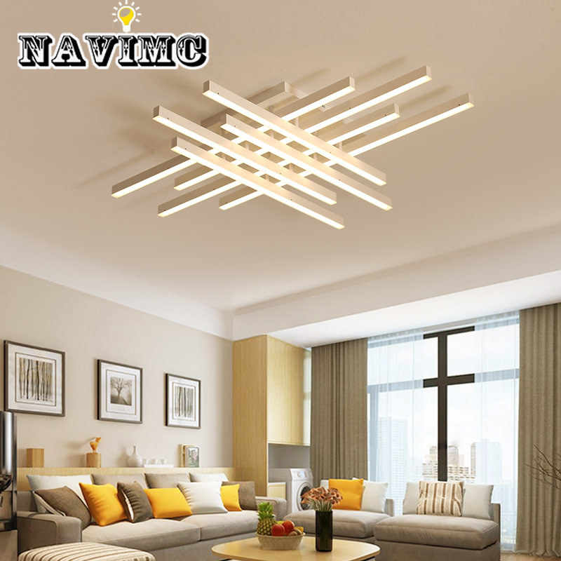 2/3/4 Head Finished Lamp LED Modern Ceiling  Lights for Living Room Acrylic  Indoor Lighting