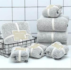 Bath-Towel Carbon-Fiber Velvet Bamboo-Charcoal Soft Adult Absorbent 70x140cm Coral
