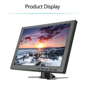 10 inch Portable Monitor HDMI 1920x1080 HD IPS Display Computer LED Monitor with Leather Case for PS4 Pro/Xbox/Phone