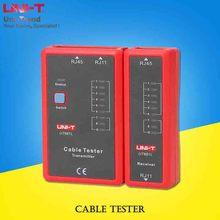 UNI-T UT681L/UT681C/UT681HDMI кабельный тестер; телефонная линия/Сетевая линия проверки/Ethernet телефон BNC HDMI инструмент для ремонта