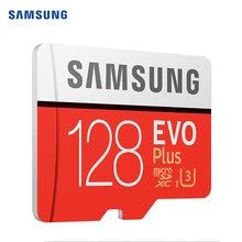 SAMSUNG EVO Plus de tarjeta Micro SD 32G SDHC TF/tarjetas SD 64GB Clase 10 tarjeta de memoria 128GB SDXC UHS-I 256GB 512GB 4K cartao de memoria