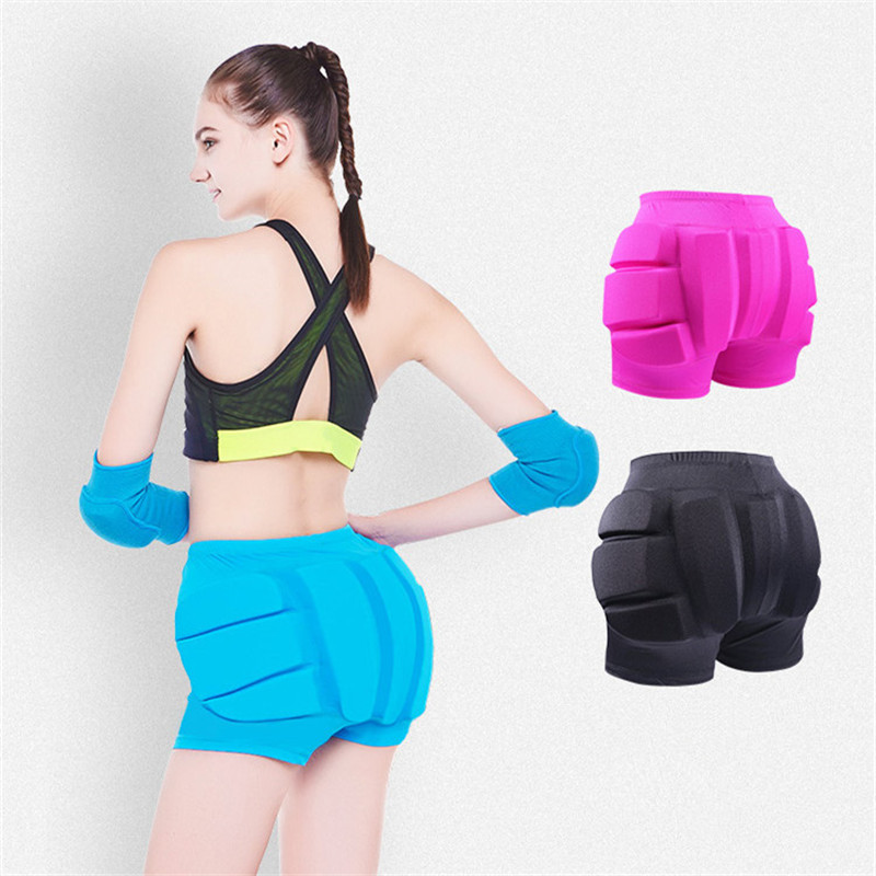 Image 5 - Figure Skating Ice Skating Hips Protector Pad Sports Safety Supporter Protective Mat Protection Skiing skating equipment Diaper-in Ballroom from Novelty & Special Use