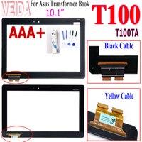 """10.1 """"ل Asus T100 محول الأرقام بشاشة تعمل بلمس لوحة استبدال ل Asus محول كتاب T100 T100TA T100H T100HA T100TAF اللمس-في شاشات ولوحات LCD للأجهزة اللوحية من الكمبيوتر والمكتب على"""
