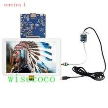 شاشة 8.9 بوصة 2K IPS 2560*1600 MIPI LCD مع لوحة للقيادة USB لوحة اللمس السعة Raspberry Pi 3 دعم Win 7 8 10