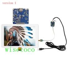Pantalla IPS 2K de 8,9 pulgadas, 2560x1600, LCD MIPI con placa controladora, panel táctil capacitivo USB, Raspberry Pi 3, compatible con Win 7, 8 y 10
