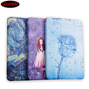 "Pokrowiec na Tablet HUAWEI MediaPad T5 10 AGS2-W09/W19/L09/L03 Honor Pad 5 10.1 ""etui z klapką Smart Painted Cartoon Stand Cover"