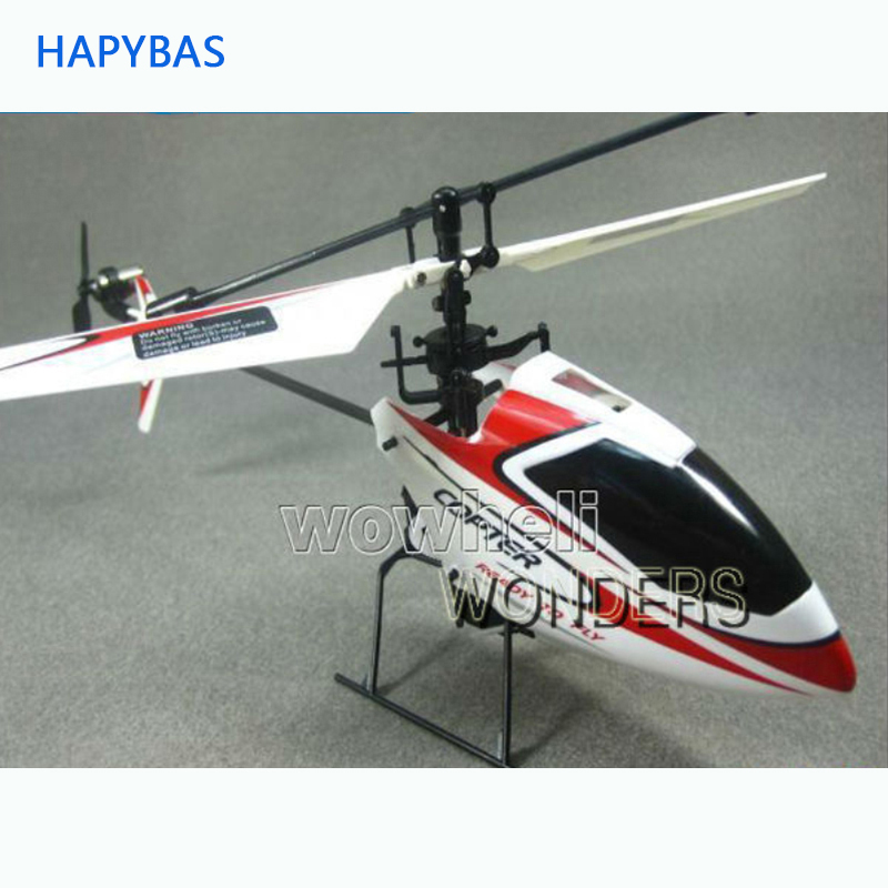 RC Helicopter Propeller-Radio RTF Remote-Control Single-Blade High-Quality W/gyro V911-4ch title=