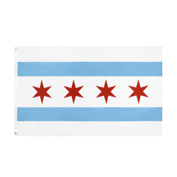 WN 60X90 90X150cm Usa Us Chicago Club Flag For Decoration image