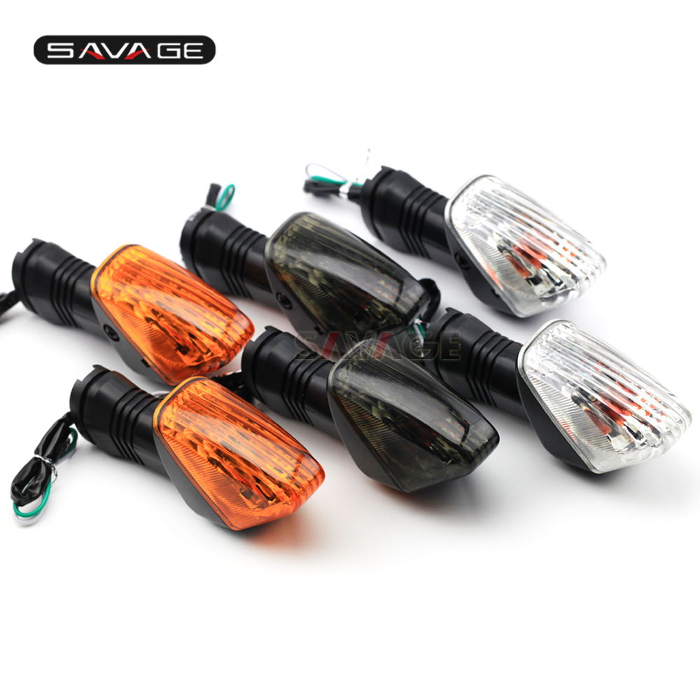 Turn Signal Indicator Light For KAWASAKI ZX-6R ZX-6RR Z750S KLE 500/650 VERSYS KLR650 Motorcycle Front/Rear Blinker Lamp ZX6R