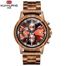 Новые креативные мужские деревянные часы кварцевые наручные часы для пары Женские уникальные часы тонкие модные классические горячие тренды MS наручные часы