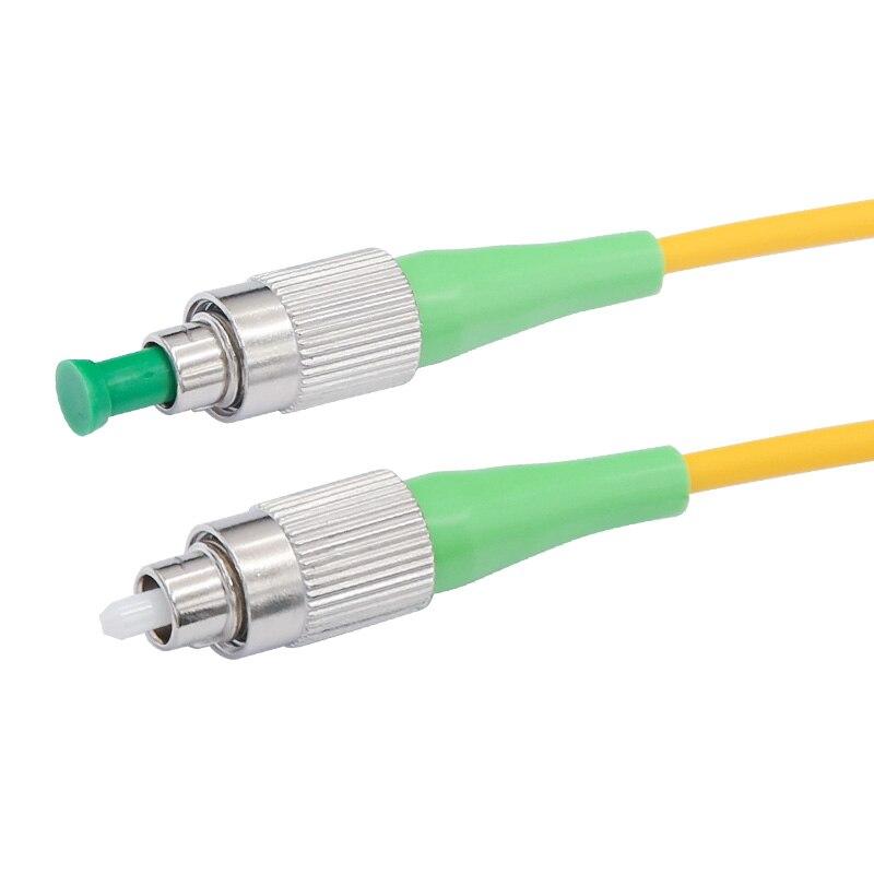 10 шт. высокое качество FC APC 3 метра/5 метров/10 метров 9/125 симплексный одномодовый волоконно-оптический патч-корд кабель