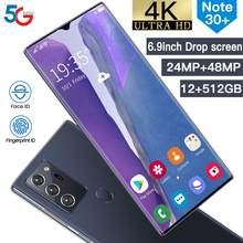Global Version Galax Note30+ Fingerprint Unlock Smart Cellphone 6.9