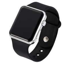 Men Sport Watch Square LED Student Women Digital Watch Electronic Clock Army Military Bracelet Silicone Wrist Watch Hodinky saat