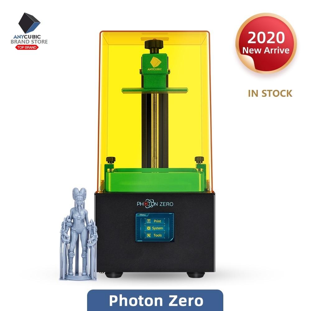 Anycubic 2020 New Photon Zero 3D Printer SLA LCD Printer Quick Slice UV Resin Plus Size Impresora 3d Drucker Impressora3D Printers   -