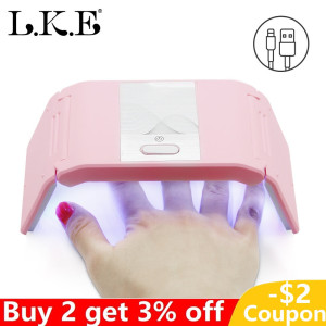 24W Gel Nail Polish UV Lamp Na