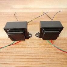 Transformador de salida de un solo extremo 5K 5W para 6P1 6P14 6P6 0 4 8 Ohm, amplificador de tubo de vacío DIY