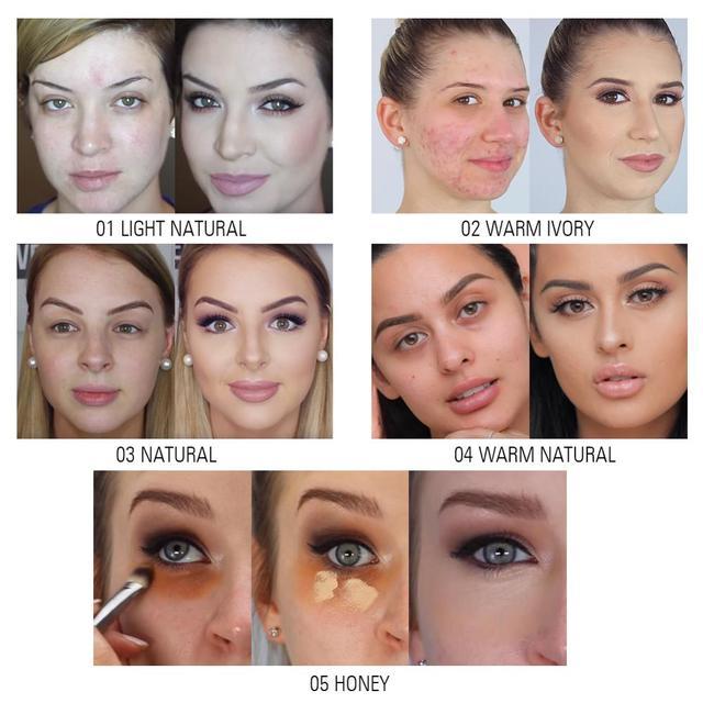 SACE LADY Pro Concealer Makeup Full Cover for Eye Dark Circle Face Corrector Cream Liquid Eye Primer Base Make Up Brand Cosmetic 3