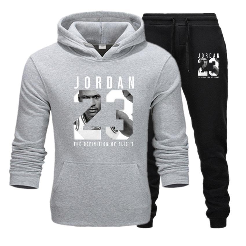 2020 Latest Brand Clothing Men's Casual Sweatshirt Pullover Men's Sportswear Hoodie Two-piece Suit + Pants Sports Shirt Autumn A