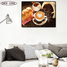 Diamond Painting Cross stitch Coffee cups Rhinestone Diamond Embroidery Mosaic 5d Diy Full Square/Round Drill Home Decor Gift photo custom 5d diy diamond painting full drill square round cross stitches rhinestone mosaic diamond embroidery art home decor