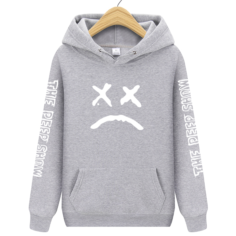 New 2019 Fashion Hoodies Men Lil Peep Sweatshirts Hooded Pullovers Weatershirts Male/Women Sudaderas Cry Baby Hood Hoddie