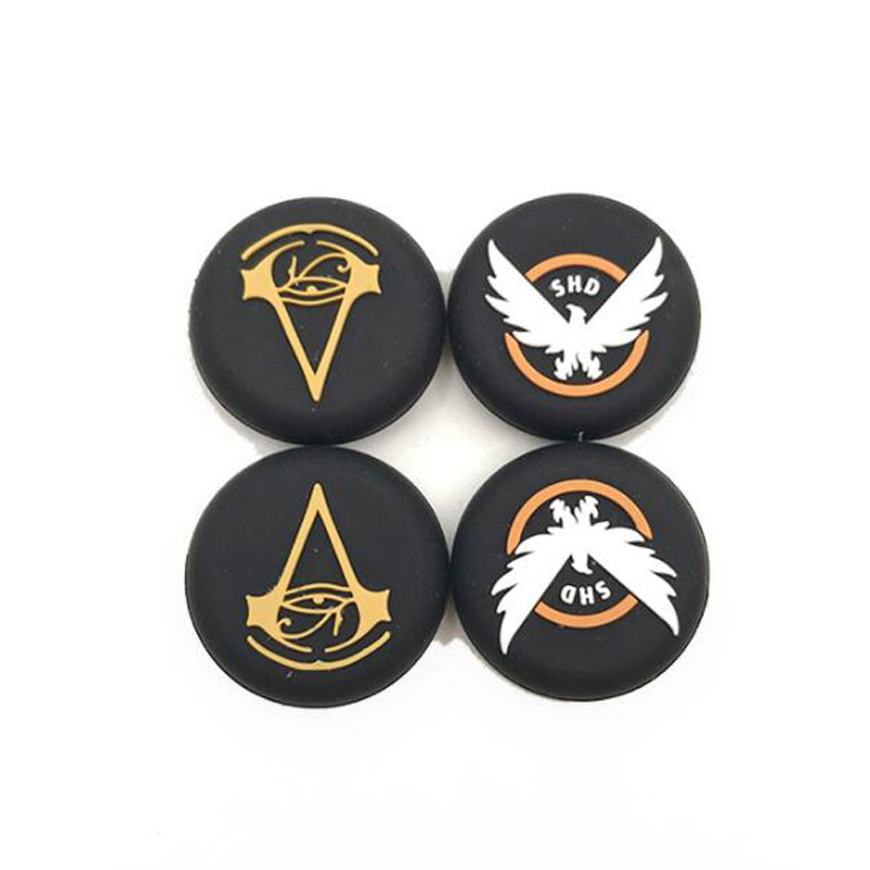 The Division SHD Thumb Stick Grip Cap Thumbstick Joystick Cover Case For Sony PS3 PS4 Slim Xbox One 360 Switch Pro Controller