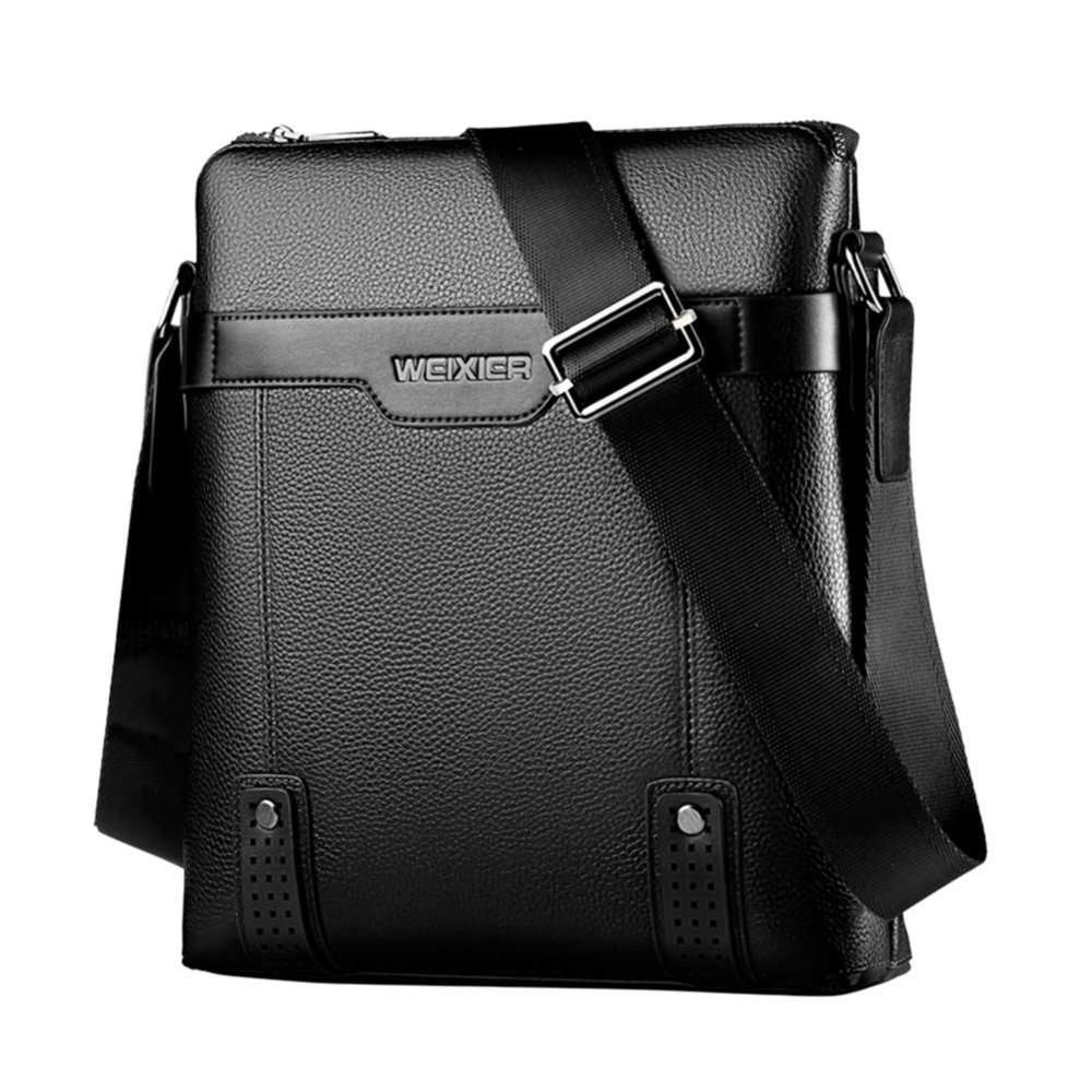 Vintage High Quality PU Leather Men Casual  Messenger Crossbody Bag Business Men's Handbag Bags For Gift Men's Small Briefcase