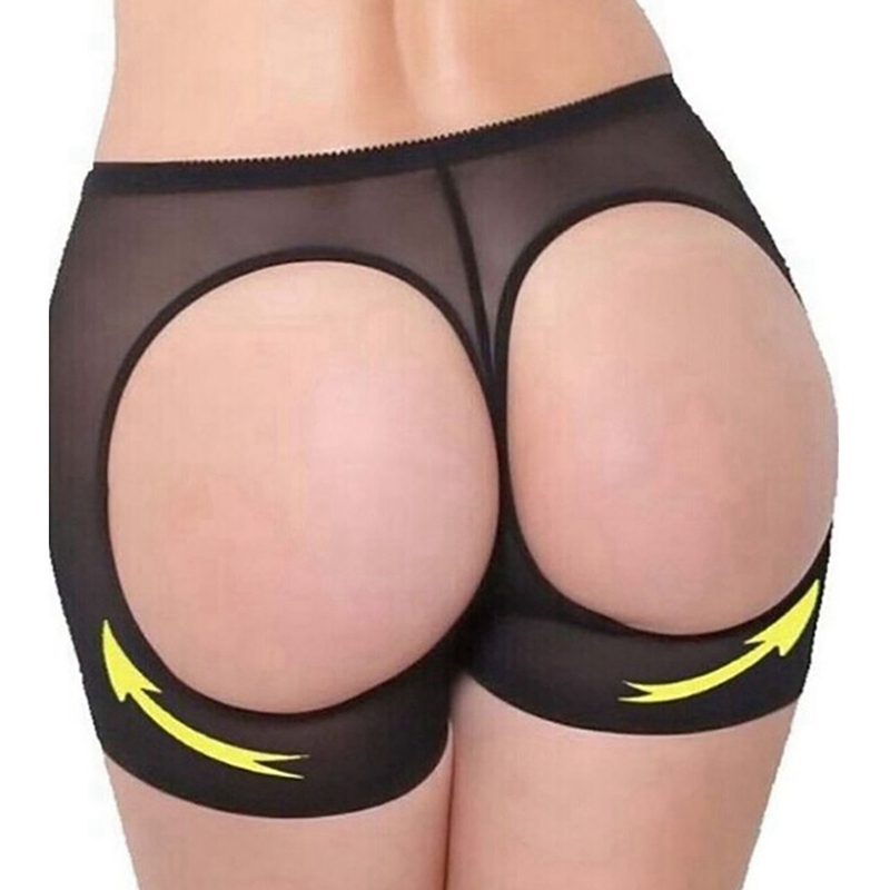 Women Butt Lifter Body Shapers Ultra-thin Breathable Elastic Mesh Pants Body Building Supports Briefs High Quality