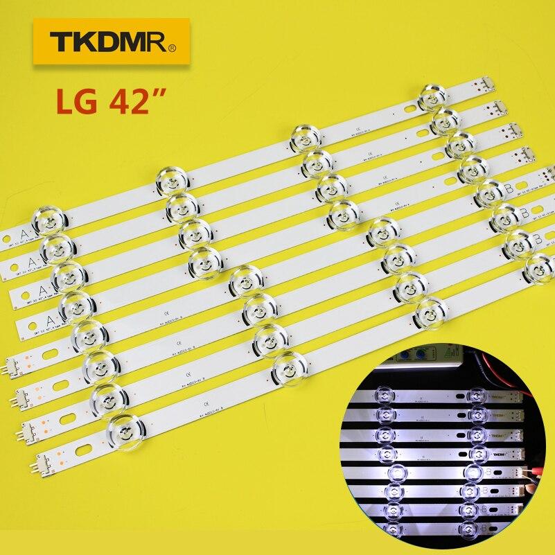 TKDMR LED Backlight Strip 8 Lamp For LG 42