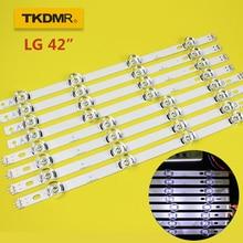 TKDMR LED Backlight strip 8 Lamp For LG 42 TV INNOTEK DRT 3.0 6916L 1709B 1710B 1957E 1956E 6916L-1956A 6916L-1957A 42LB561V