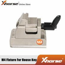 Zacisk Xhorse M4 do kluczy domowych współpracuje z XC-MINI Condor i Dolphin XP005 obsługuje klucze jednostronne/dwustronne i krucyfiksowe