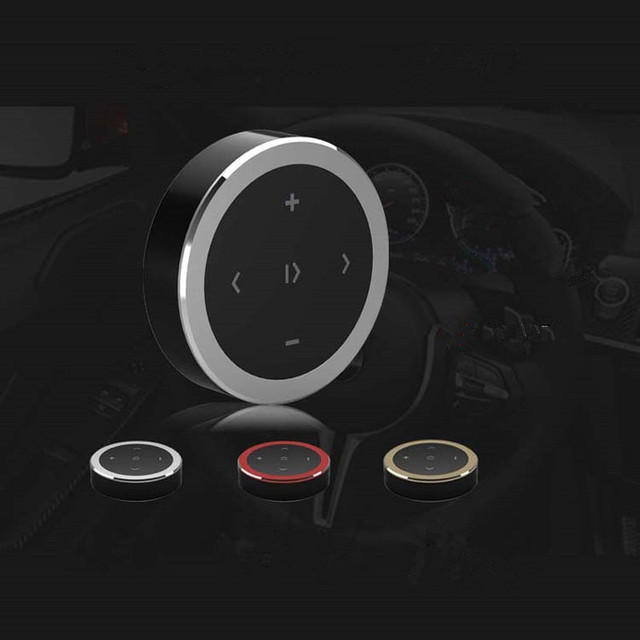 Wireless Bluetooth Media Steering Wheel Remote Control Mp3 Music Play for Android IOS Smartphone Control Car Kit Styling