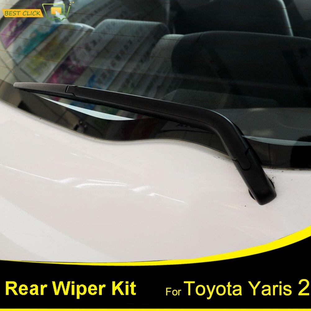 Car Rear Window Windshield Wiper Arm Blade Set New for Toyota Yaris 1995-2005