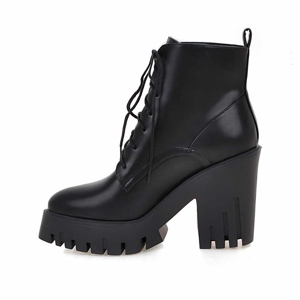 BONJOMARISA 33-43 Elegant ชี้ Toe รองเท้าผู้หญิงแฟชั่นแพลตฟอร์มรองเท้าผู้หญิงรองเท้าส้นสูง 2020 รองเท้าผู้หญิง