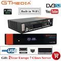 Горячая Gtmedia V8 NOVA от Freesat V8 супер ТВ приемник с 2-летним Европейским Cline рецептором встроенный WIFI H.265 DVB-S2 коробка Испания ТВ