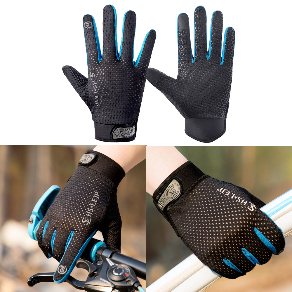 Riding Tribe Touch Screen Gloves Protective Gear For Outdoor Sports Motorcycle Gloves Full Finger Breathable Bike Cycling Mitten