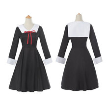 цена на Anime Kaguya-sama: Love is War Cosplay Costume Kaguya Shinomiya Dresses Cosplay Chika Costume Girl School Uniform WomenDress COS