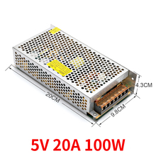 Switching power lamp transformer 5V 20A 100w LED strip closed circuit TV adapter