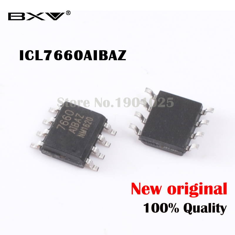 10PCS ICL7660AIBAZ ICL7660AIBA SOP8 SOP ICL7660 New And Original