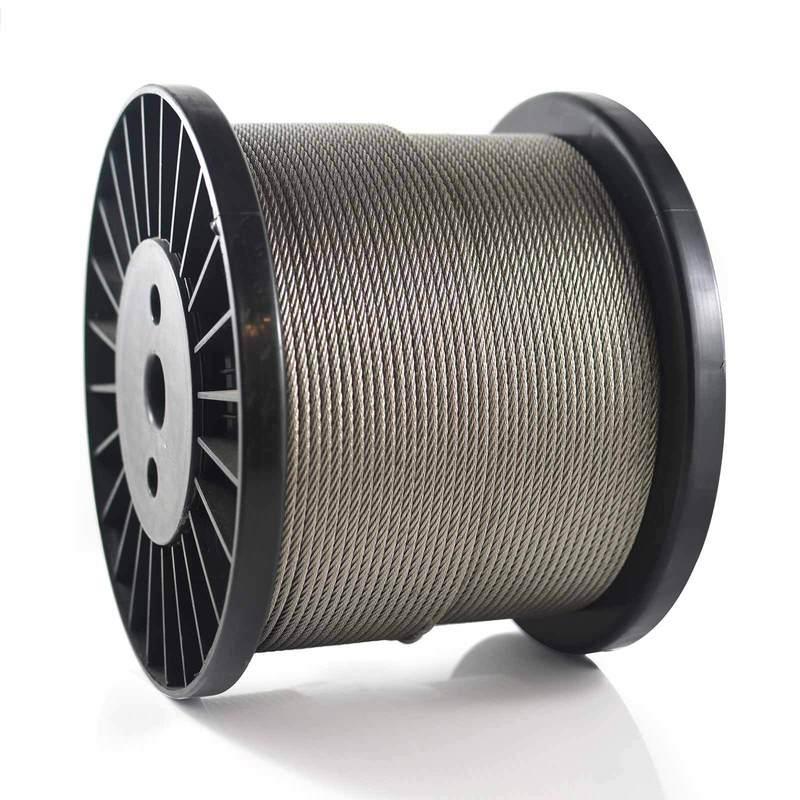 10 м из нержавеющей стальной трос Рыбалка подъемный трос нержавеющий 7*7 веревках /0,8 мм/1мм/1,2 мм/1,5 мм/2мм/2.5 мм/3мм