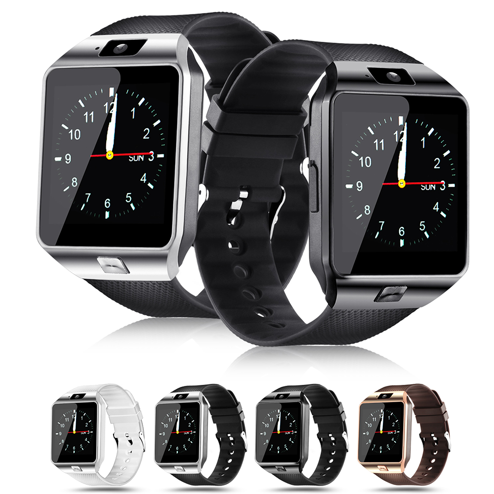 FXM Bluetooth Smart Watch DZ09 Relojes Smartwatch TF SIM Camera Men Women For IOS IPhone Samsung Huawei Xiaomi Android Phone