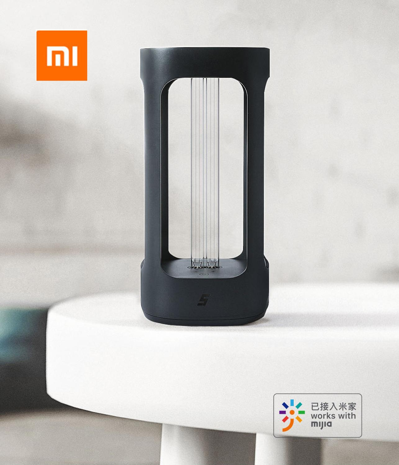 Xiaomi Mijia FIVE Smart UVC Disinfection Lamp Human Body Induction UV Sterializer From Xiaomi Youpin With Mijia App Control