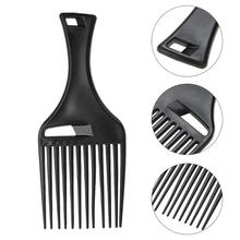 Wide Teeth Hair Comb Hairbrush Hair Fork Comb Insert Curly Hair Brush Massage Comb Hairdressing Styling Tools janeke golden wide teeth comb with handle page 10