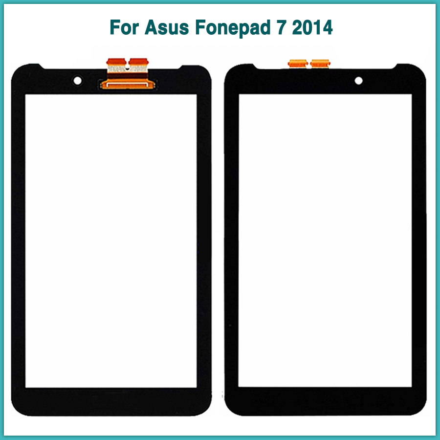 New Touchscreen For <font><b>Asus</b></font> Fonepad 7 2014 FE170CG ME170C ME170 <font><b>K012</b></font> me170 Touch screen panel Digitizer Sensor front Glass Lens image