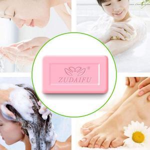 Sulfur Skin Acne Antifungal Anti-mite Soap Mini Sanitary Individually Wrapped Shower Soap Skin Nourishing Cleansing Repair Bath