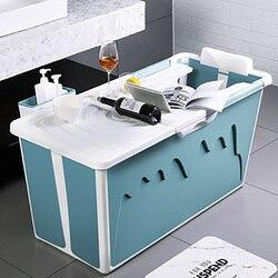 Kunststoff Badewanne Erwachsene Kind Badewanne mit Griff für Kleine Bad Haushalts Große Badewanne Dusche Tablett Nicht-Slip Bath zubehör