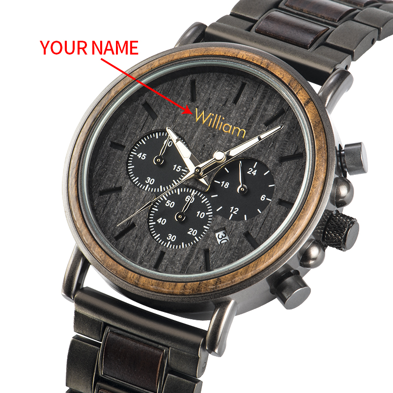 часы мужские BOBO BIRD Watch Men Valentine Birthday Anniversary Personalized Quartz Wood Wristwatches Male Gift OEM Dropshipping