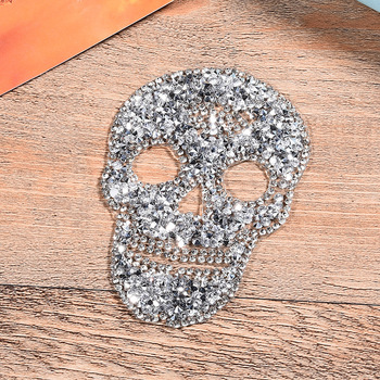 ZOTOONE Strass Crystals Rhinestones Diy Applique Iron on Clear Hotfix Rhinestone Stickers Stones for Clothes Skull Decoration G 2 5mm square wave resin rhinestone trim banding hotfix iron on strass mesh bridal beaded applique for diy dress clothes jewelry