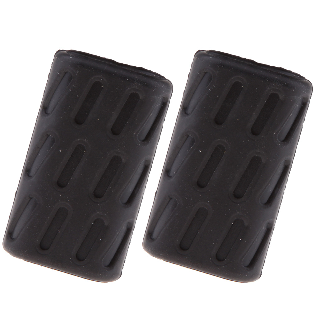 2x Shifter Gear Shift Lever Rubber Tip Pad For Ducati 696 796 795 1100