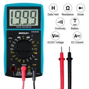 all-sun EM382B LCD Digital Multimeter DC/AC Voltmeter Continuity Battery Diode Tester(China)
