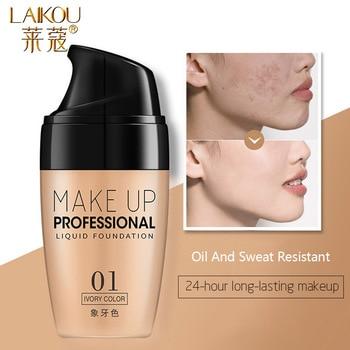 LAIKOU Professional Makeup Base Foundation Face Primer Gel Cosmetic Foundation Waterproof Lasting Oil Control Makeup Primer жидкость сливки albion gel mask foundation
